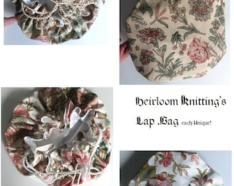 Heirloom Knitting's Versatile Lap Bag