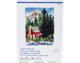 Cozy Cabin Latch Hook Kit (Pre-Order)