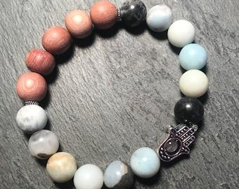 amazonite bracelet / diffuser bracelet / essential oil bracelet / aromatherapy bracelet