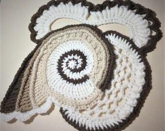 Crochet Freeform/Motif Tutorial 1 - Pattern Only (PDF Download)