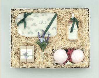 Flowery Memories | Bath Gift Box | Bath Basket | Gift for her | Special Gift | Spa and Relax Gift Box