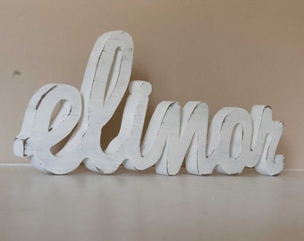 Baby Name Custom Nursery Decor- Wood Letters