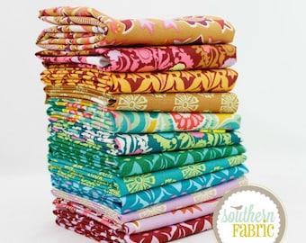 "Dream Weaver - Fat Quarter  Bundle - 12 - 18""x21"" Cuts - Amy Butler - Westminster Quilt Fabric (AB.DW.12FQ)"