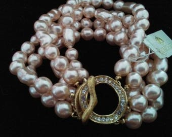 """Richlieux Passion in Pink """"Pearl"""" Bracelet"""