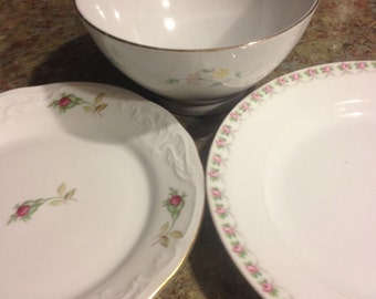 3 Vintage China pieces - mix and match lot