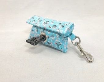 Poop Bag Holder · Dog Bag Holder · Dog Poop Bag Holder · Floral Poop Bag · Dog Owner Gift · Poop Bag Dispenser · Blue Poop Bag Holder ·