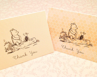 All Occasion Note Cards-Winnie the Pooh Stationery Set - Set of 10