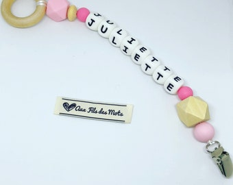 Personalized teething toy