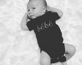 bébé//infant onesie//