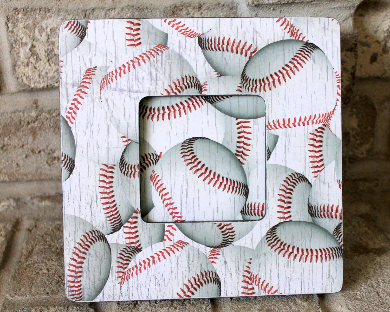 Béisbol decoración personalizada imagen marco deportes marco ...