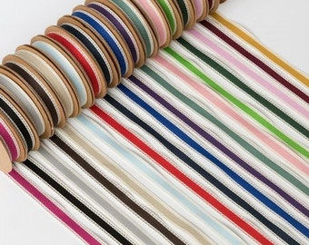 10m Cotton Twill Ribbon - 15mm wide - Wedding and Craft Projects