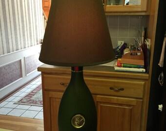 Large 1.75 Cognac Lamp