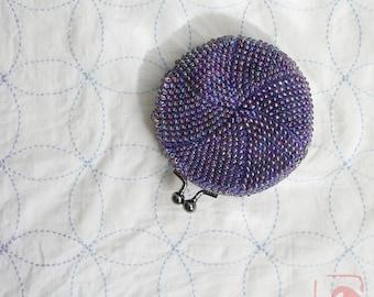 Baba handmade beads crochet coinpurse No.755