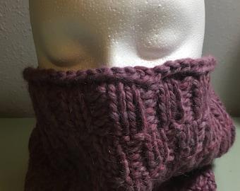 Super soft Alpaca Handknit Cowl