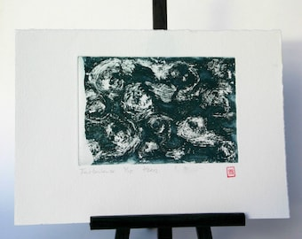Turbulence - Original Etching