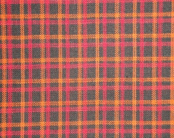 Homespun Material | Plaid Material | Cotton Material | Home Decor Material | Rag Quilt Material | Craft Material | Doll Making Material