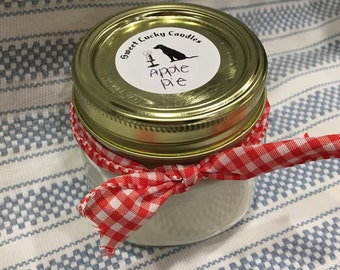 Apple Pie- Soy Candle, Apple Pie Scented