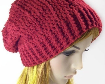 "Team Vampire Slouch Hat """"""P A T T E R N"""""""