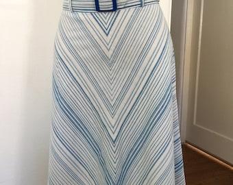 70/80's vintage skirt with belt