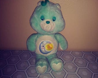 18 inch large Bedtime Bear Care Bear in great condition vintage toys