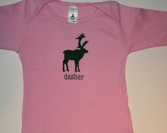 """Long sleeve American Apparel """"dasher"""" t-shirt for toddlers...very festive and super hip"""