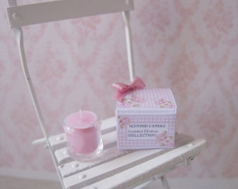 1:12 DOLLHOUSE CANDLES. 1 inch scale miniatures for dollhouses.