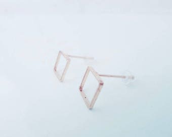 Ear cuff - cuff - jewelry - earrings gold - minimalist - square-woman - gift - Valentine's day