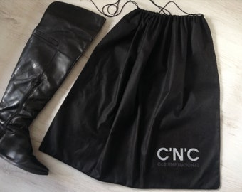 C'N'C Costume National shoe bag, black boots bag