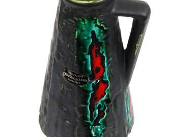 Knodgen Fat Lava Mid Century German Vase/Jug