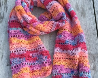 Haakpatroon sjaal Magic (Nederlands)