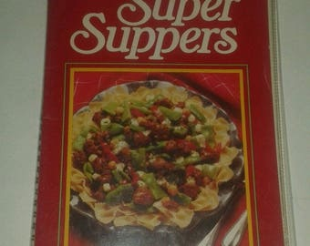 Birds Eye New Super Suppers Vintage Cookbook Recipes 1980