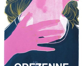 Screen printing / Ludivine Martin: Odezenne [life wild 2014]