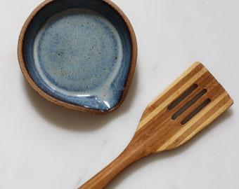 Arroyo Spoon Rest - Floating Blue
