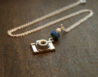 Photographers Necklace Silver Camera Necklace Camera Pendant Necklace Photography Photo Photographer Jewelry Camera Jewelry