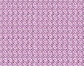 Purple 1930's Petals by Riley Blake Designs 112cm (w) x 25cm