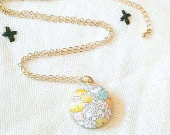Bright Liberty of London Floral Necklace