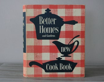 Better Homes and Garden New Cook Book (1953) / Vintage Cookbook