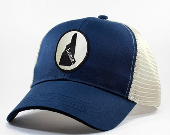 Homeland Tees New Hampshire Home State Trucker Hat