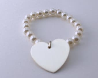The Pearl of My Heart Bracelet