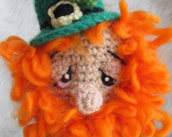 Free Amigurumi Leprechaun Pattern : Stuffed leprechaun etsy