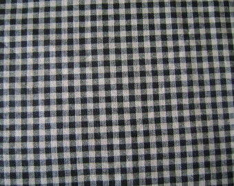 Check Home Spun Cotton Fabric by the yard