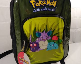 Original 90s NOS Pokemon Backpack