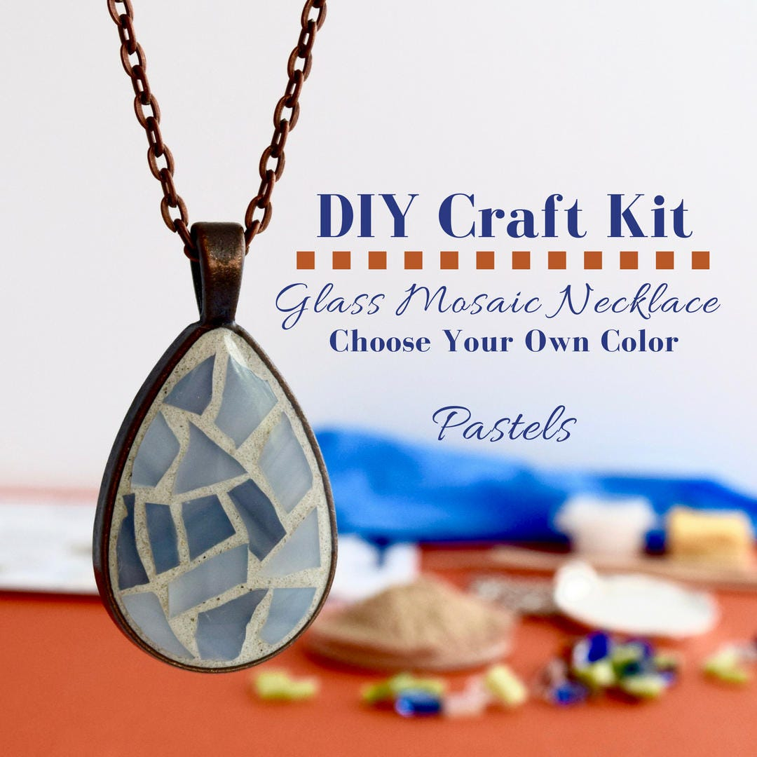 Make Your Own Necklaces And Jewelry At Home: Make Your Own Jewelry Making Kit Necklace DIY Kit Do It