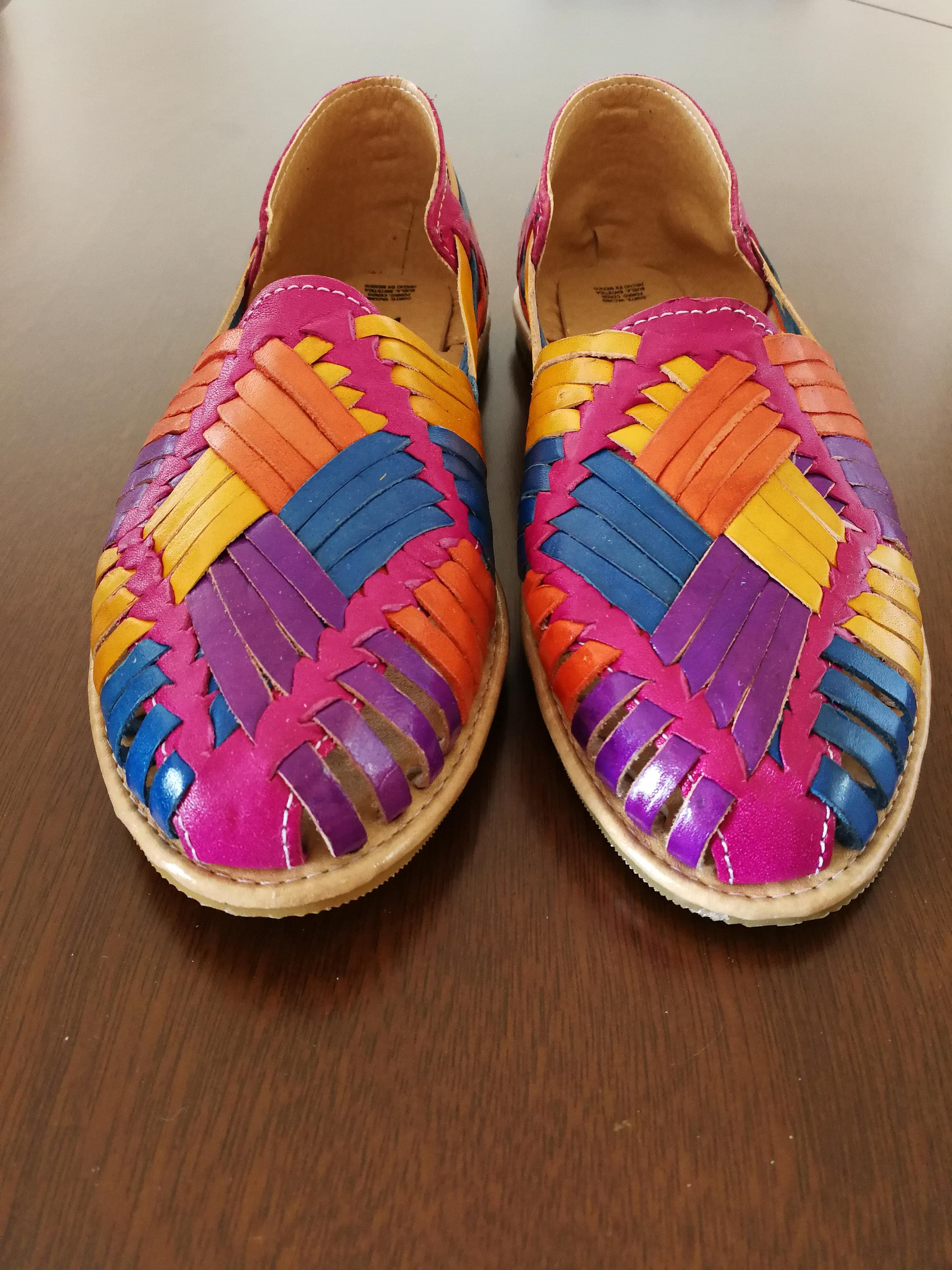 Mexican Sandals Mexican Huaraches Sandals Mexican Shoes Us