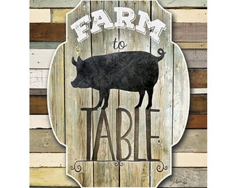 MA2138 - Farm to Table - 12 x 16
