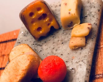 Miniature Kitchen: Fruit and Cheese Board