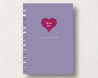 Personalised Mum's To Do List or Notebook
