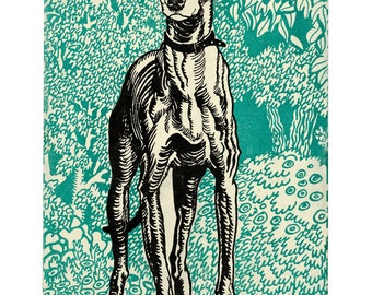 Poster - Greyhound - just Jung - 1912 - fine art gallery