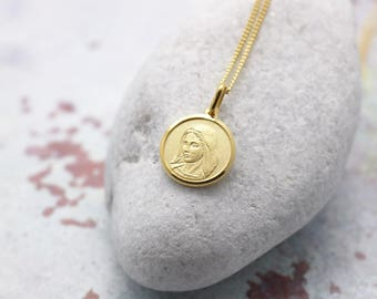 Personalised Mother Mary Necklace