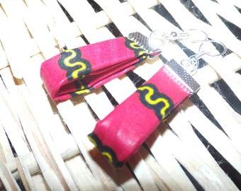 WAX Ribbon earrings